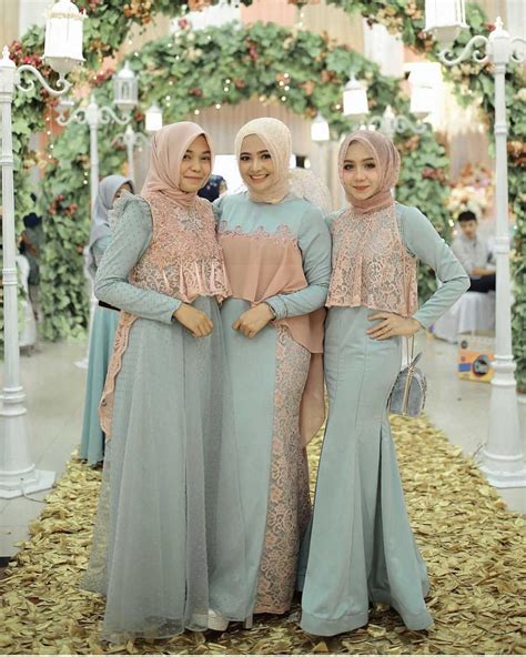 Baju Muslim Simply Byna Dress 17 model baju pesta muslim 2018 edisi gaun pesta muslimah