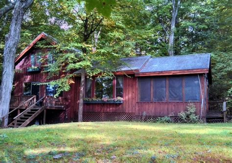 Cabin Lake George by Wooded Waterfront Cabin On Lake George Homeaway