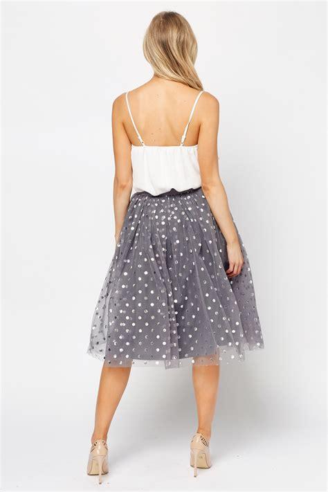 Mesh Skirt high waist mesh overlay skirt just 163 5