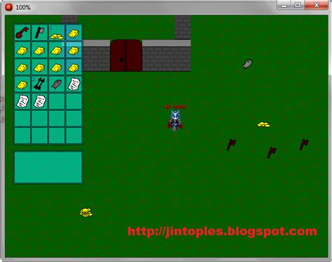 membuat game android game maker cara membuat game dengan inventory di game maker jin
