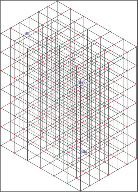 layout grid in latex tikz realistic 3d grid tex latex stack exchange