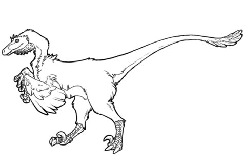3d Copy And Draw Dinosaurs And raptor dinosaur coloring page free printable coloring pages