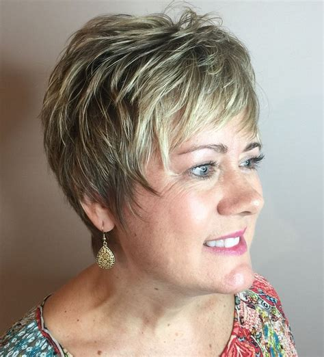 short hair with lots of color 15 best blonde highlights for gray hair ideas images on