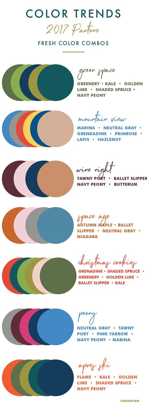 trending color palettes for 2017 25 best ideas about color trends on pinterest color