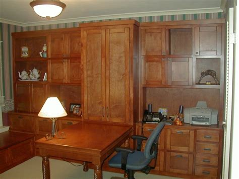 Home Office Fiorenza Custom Woodworking Home Office Wall Home Office Wall Cabinets