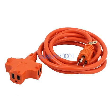 solar light extension cord electrical power extension cord 12awg to 16awg light heavy