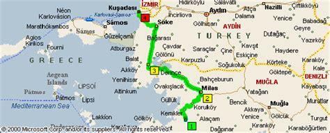 kusadasi city map pin kusadasi city map of and all on