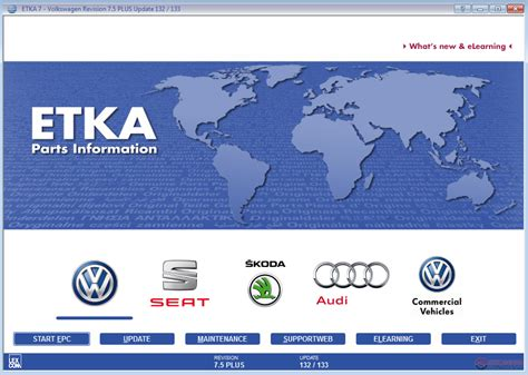 Etka Audi Free Download by Etka 7 5 Feb 2016 Repack With Patched Dlls Auto Repair