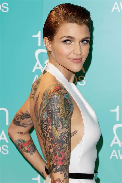 tattoo girl from orange is the new black ruby rose from orange is the new black ok so she s not