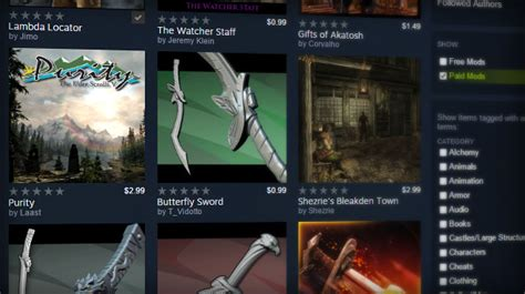 game engine mod support confirmed paid mod support coming to steam craveonline