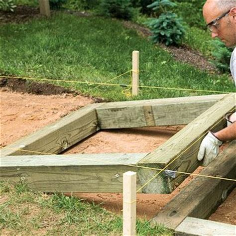 Installing Landscape Timbers On A Slope 1000 Ideas About Brick Steps On
