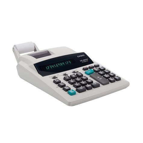 kalkulator casio fr 2650 jual casio fr 2650 kalkulator printer harga