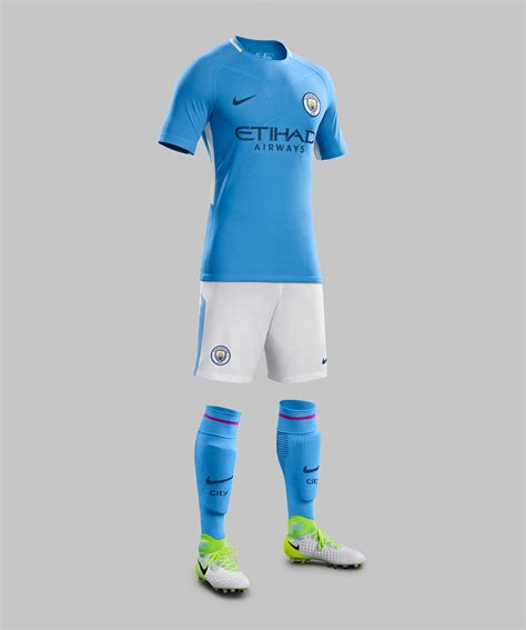 Home Kit manchester city 17 18 home away amp third kits revealed