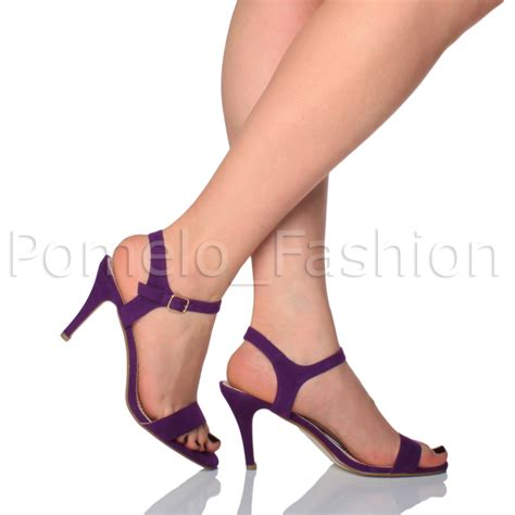 womens wedding heels womens wedding bridesmaid mid high heel strappy