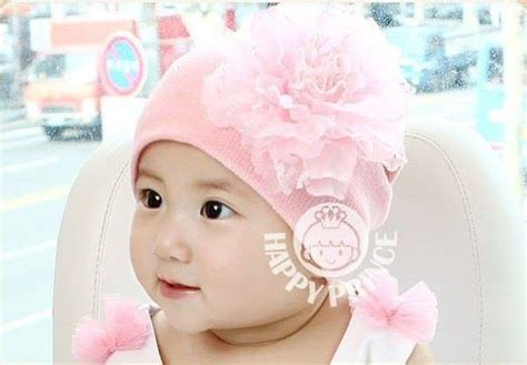 Topi Flower jual beli topi kupluk baby peony flower beanie baru