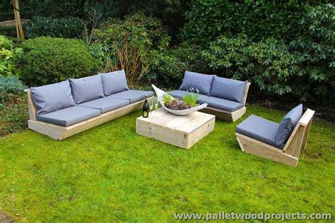 Pallet Garden Furniture Ideas Pallet Outdoor Furniture Ideas Pallet Wood Projects