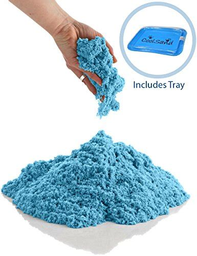 Motion Sand Refill Blue from usa coolsand 5 lb refill with sandbox kinetic play sand for all ages