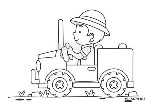 safari jeep coloring page safari coloring page coloring pages ideas reviews