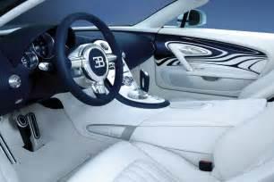 Inside Of A Bugatti Veyron Bugatti Veyron Gran Sport Lor Blanc Interior