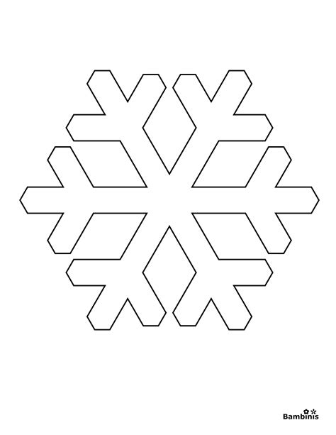 snowflake templates easy simple snowflake coloring pages 3 memes