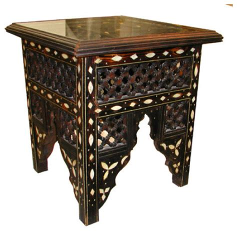 Moroccan Side Table Moroccan Grill Table Traditional Side Tables And End Tables By Indeed Decor