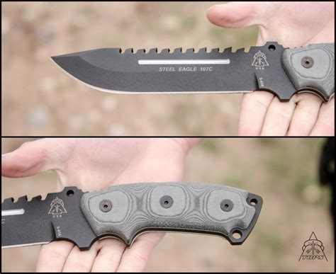 tops steel eagle steel eagle 107c knife tops knives tactical ops usa