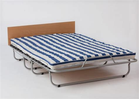 folding double guest bed with headboard