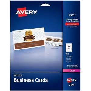 avery templates 5371 business cards avery 5371 laser perforated business card walmart