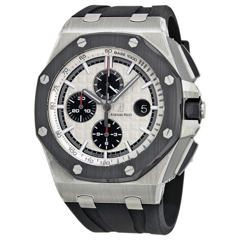 Audemars Piguet Roo Black Silver audemars piguet royal oak offshore silver s