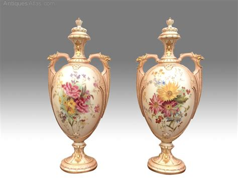 Royal Worcester Vases by Antiques Atlas A Stunning Pair Of Antique Royal