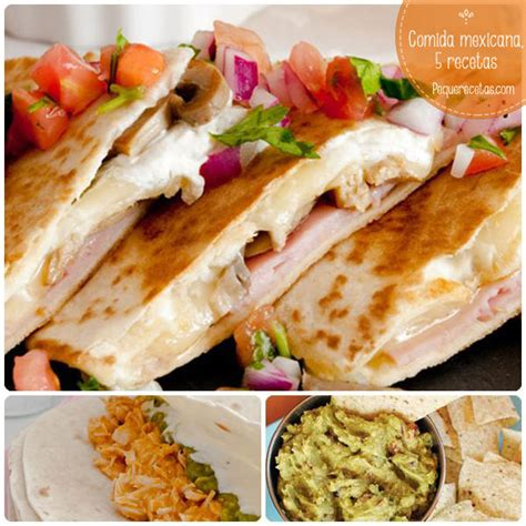 recetas de cocina mexicana faciles y rapidas recetas mexicanas pequerecetas