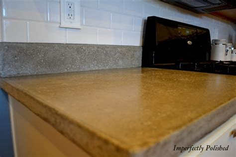 How To Do Cement Countertops Diy Concrete Project Ideas Remodelaholic