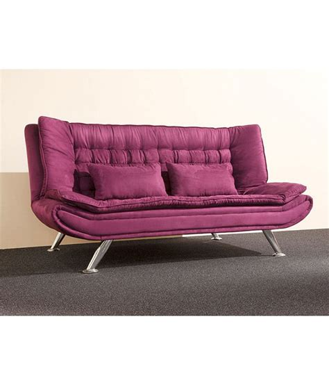 purple sofa bed metro sofa bed purple buy online at best price in india