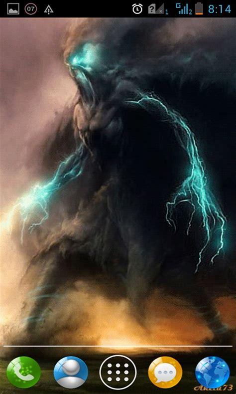 tornado demons  wallpaper android app  apk