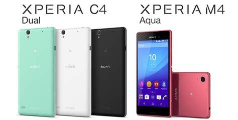Hp Sony Xperia Aqua C4 sony xperia m4 aqua และ xperia c4 dual เตร ยมวางขายในไทยราคาหม นต น เร มวางขายส นเด อนน