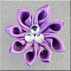 how to make kanzashi image gallery kanzashi flowers