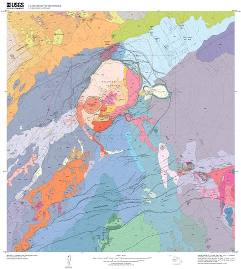 volcanoes and volcanology geology beautiful destruction 11 gorgeous geologic maps of