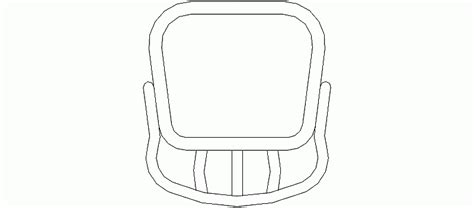 bloque autocad silla bloques autocad gratis muebles silla vista en planta