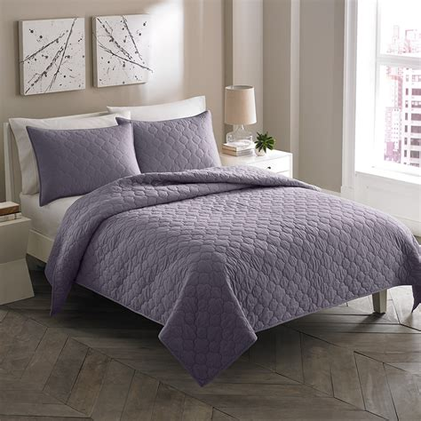 moroccan comforter city scene moroccan medallion shadow purple quilt set from