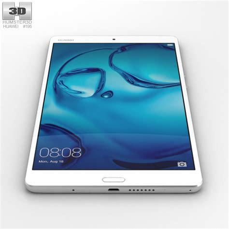 Huawei Mediapad M3 8 4 huawei mediapad m3 8 4 inch silver 3d model hum3d