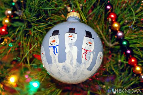 4 fun handprint christmas decorations