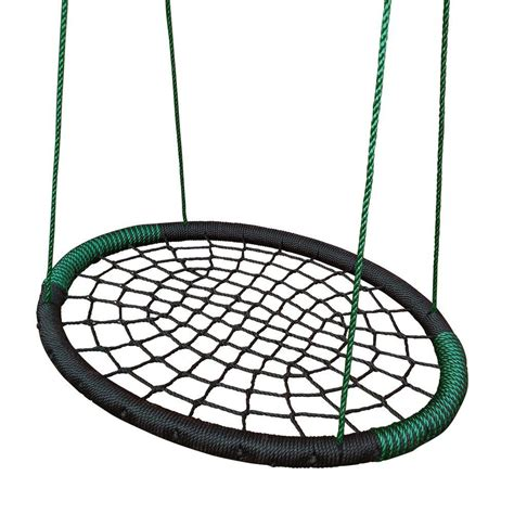 swing net swing n slide playsets black monster web swing shop your