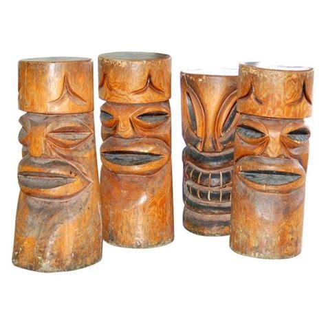 Polynesian Tiki Bar Stools by Tiki Bar Stools Tiki Central