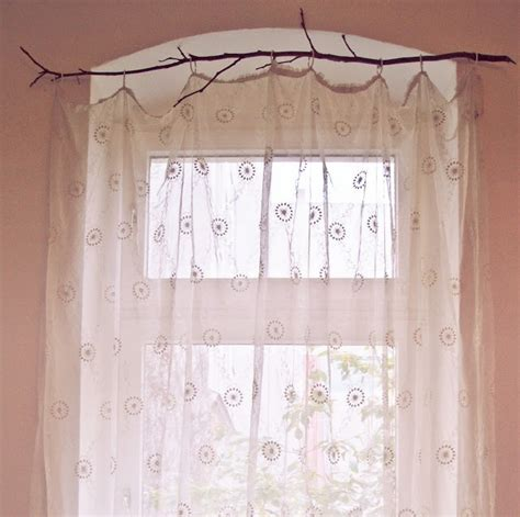 tree branch curtain rods 1000 ideas about branch curtain rods on pinterest