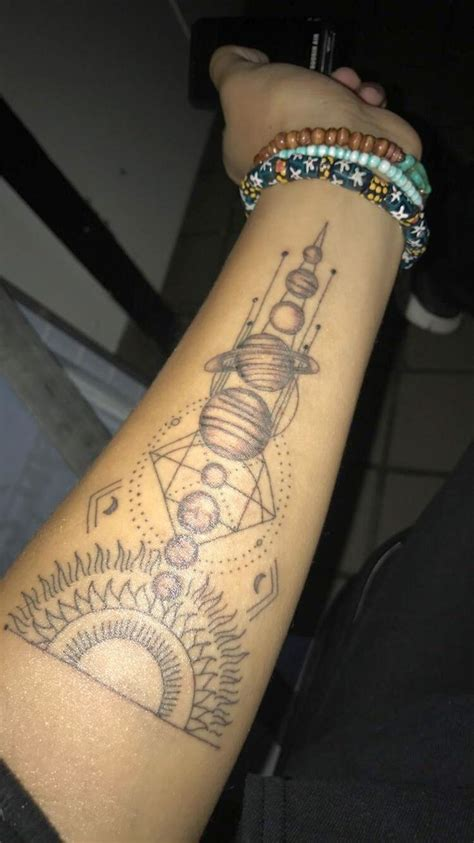 solar tattoo best 25 planet tattoos ideas on space tattoos