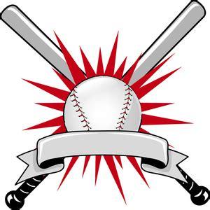 baseball clipart image baseball sports logo with two