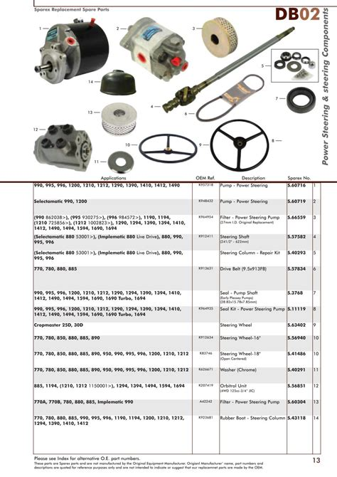 david brown front axle page 15 sparex parts lists