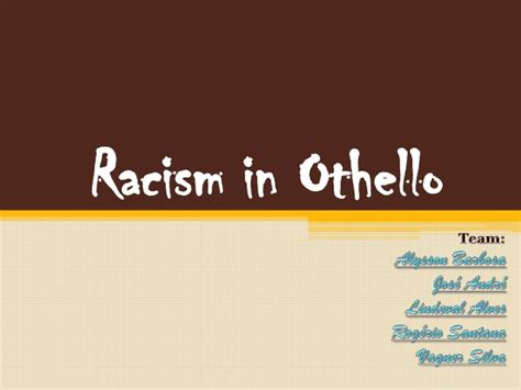 Racism In Othello Essay by Racism In Othello Essay Help My Professional School Essay On Hacking Statement Othello