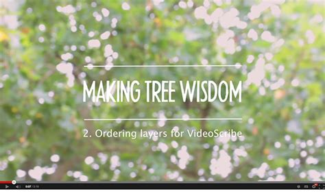 Videoscribe Anywhere Tutorial | tree wisdom tutorial 2 ordering layers for videoscribe