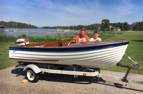 girl found on boat in 1961 two 15 year olds and a dream boat classic boats